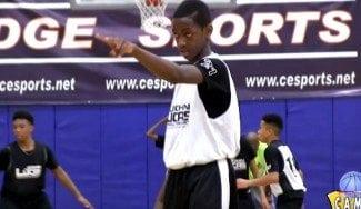Apellido ilustre y maneras de jugón: un hijo de Dwyane Wade, virguero con 13 años (Vídeo)