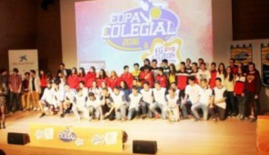 Zaragoza también huele a Copa Colegial. Presentación en el Caixa Fórum