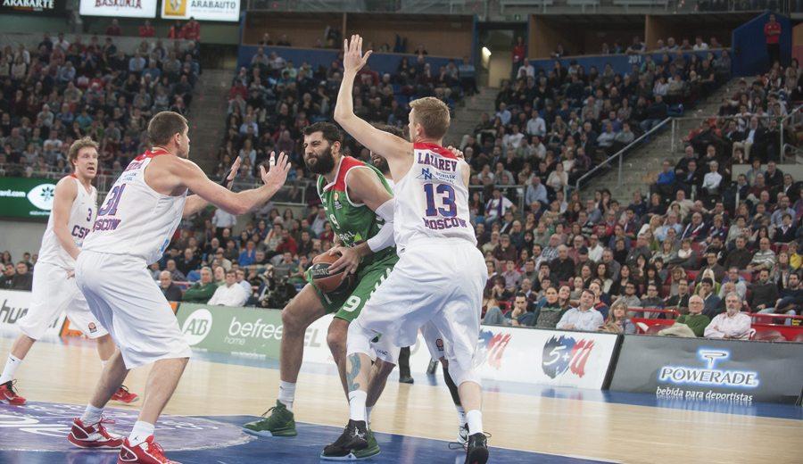 El CSKA trató de arrebatar al Baskonia a Bourousis como sustituto de Freeland
