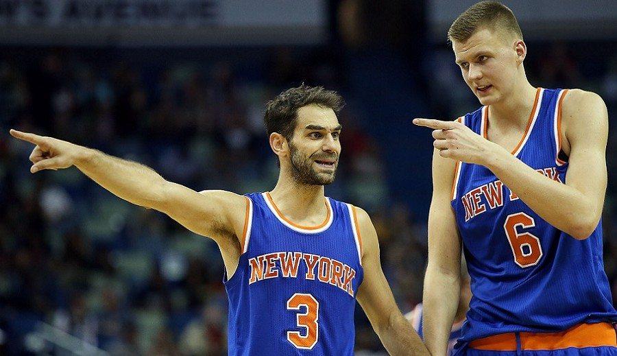 Barea salva a los Mavs ante unos Knicks sin unos lesionados Calderón y Porzingis (Vídeo)
