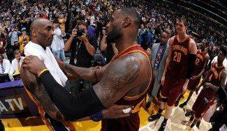 Kobe Bryant: «LeBron James ahora es de la familia»