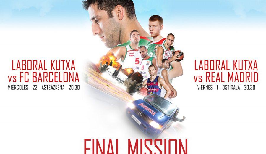 La 'Misión Imposible' del Baskonia: así se prepara para recibir a Barça y Madrid (Vídeo)