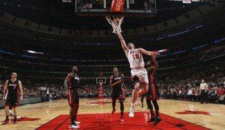 Pau roza el triple-doble pero los Bulls, sin Butler y Rose, pierden con los Heat (Vídeo)