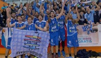 ¡Fiesta en Marín! El Peixegalego certifica su ascenso a LEB Oro con su 11ª victoria seguida