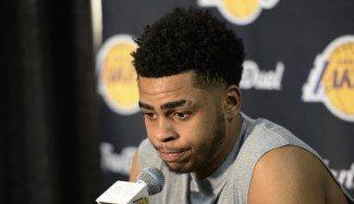 """Crisis Lakers. Russell pide perdón: """"El daño ya está hecho. Trataré de recuperar la confianza"""""""