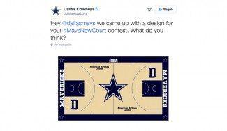 Los Mavs buscan nuevo diseño de parquet: así reacciona Nowitzki ante el de los Cowboys