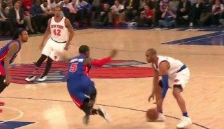 ¿El crossover del año? Afflalo vuelve loco a Cadwell-Pope en el triunfo de los Knicks (Vídeo)