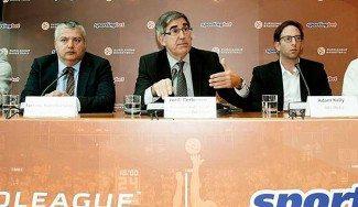 Bertomeu: «No estamos en guerra con nadie». Su socio capitalista, conciliador con la FIBA