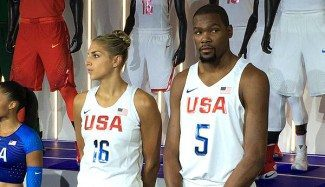 USA Basketball ya tiene uniformes para Río: Kevin Durant y Delle Donne, los modelos