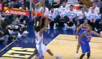 Homenaje al mate: Faried no se cansa de hacerlos y tapa el gran partido de Carmelo (Vídeo)