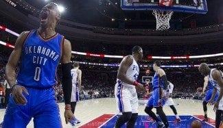 Westbrook, 13º triple-doble. Iguala a Grant Hill y Kidd y a sólo dos del mejor Jordan (Vid)