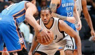 Leonard somete a los Thunder para que los Spurs sigan invictos en casa: 32-0 (Vídeo)