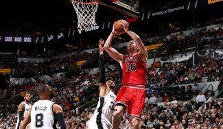 Los Spurs baten a los Bulls y prolongan su racha como locales. Gasol (21+12) no basta