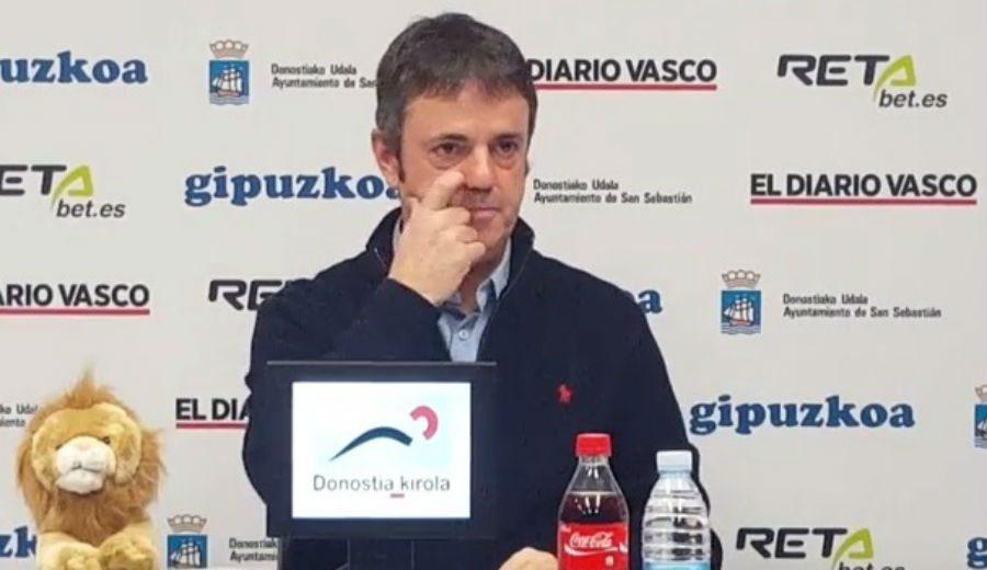 Fisac avisa a su plantilla ante el Bilbao: «El que gane se va a quitar mucha mierda» (Vid)