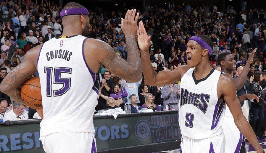 Los Kings ganan en Dallas 13 años después. Rondo y Cousins acaban con la maldición