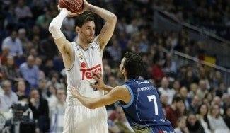 El Madrid cose a triples al Andorra con Rudy de vuelta. El Valencia, sin piedad del Manresa