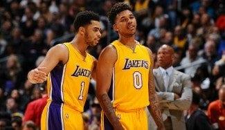 D'Angelo Russell, marginado en los Lakers por grabar una conversación privada con Young