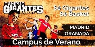 Ya está abierta la inscripción para el Campus Gigantes del Verano 2016. ¡Apúntate ya!