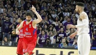 Los triples marcan la diferencia: el Madrid cae otra vez con el CSKA antes de su Tourmalet