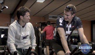 Justin Doellman, ante su nuevo reto: el Ironman de Hawai. Mira cómo se prepara (Vídeo)