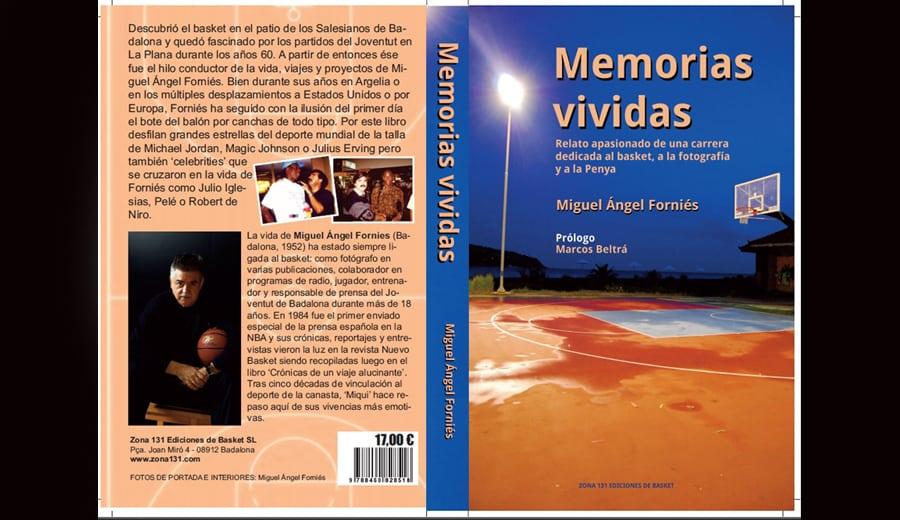 'Memorias vividas': una visión personal del basket y de la vida por Miguel Ángel Forniés