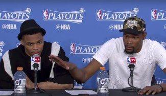 """El dueño de los Mavs desprecia a Westbrook y Durant le responde: """"Es un idiota"""" (Vídeo)"""