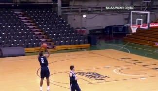 Villanova recrea la jugada del tiro ganador NCAA. ¿Cuántas meten? (Vídeo)