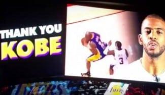 Le homenajean y luego vuelven a ganarle: El último Lakers-Clippers de Kobe Bryant (Vídeo)