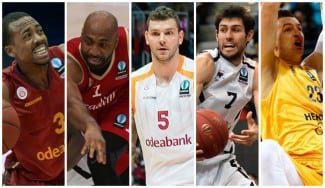 El Granca, reconocido en la Eurocup: Omic, en el Mejor Quinteto; Pangos, en el segundo