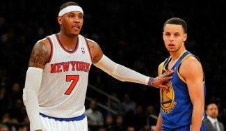 Carmelo dice que es mejor que Steph Curry y LeBron enchufando: «Anotar es adictivo»