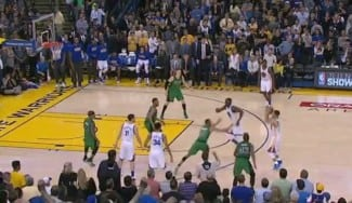 ¡Fin a la racha en casa! Los Celtics sorprenden a los Warriors. Curry pudo empatar… (Vídeo)