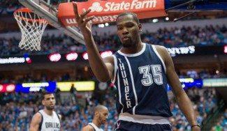 Puja por Durant: Thunder, Warriors y Spurs ya tienen cita. Y otros tres equipos esperan turno