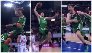 Un Top 10 sabor Baskonia: multiusos Hanga, vuelo de James y triple de Bertans (Vídeo)
