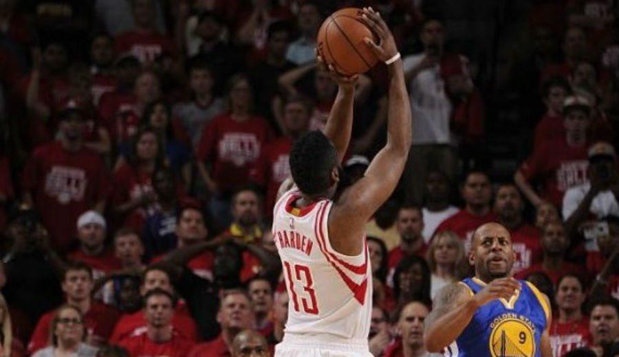 Los Warriors no sobreviven otra vez sin Curry: ¡canasta ganadora de Harden! (Vídeo)
