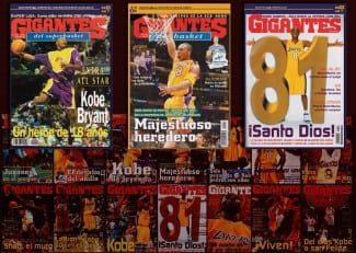 Kobe, protagonista del número de abril: mira todas sus portadas en la historia de Gigantes
