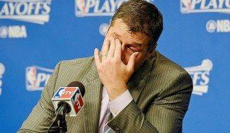 """Coach Joerger, con lágrimas tras caer ante los Spurs: """"Haría cualquier cosa por estos chicos"""""""