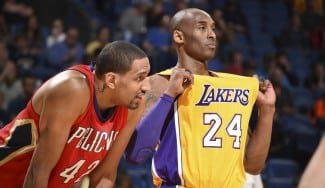 No ganan ni a los Pelicans. El francés Ajinca agua la despedida de Kobe de Nueva Orleans (Vídeos)