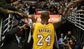 Kobe Bryant: «La única vez que descansé un partido no podía andar»