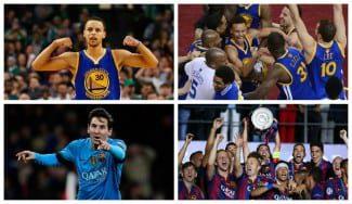 """El Barça, la inspiración de los Warriors. Curry: """"Vemos cómo juegan. Nos parecemos"""""""