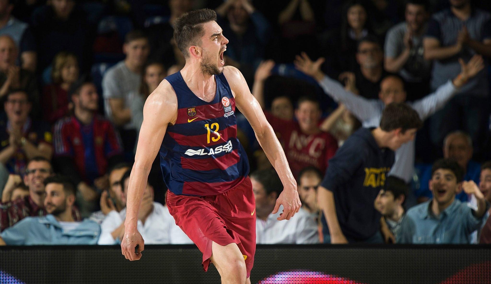 Abrines mete 25 puntos, el Barça se adelanta 2-1…¡y póster de Satoransky a Randolph!