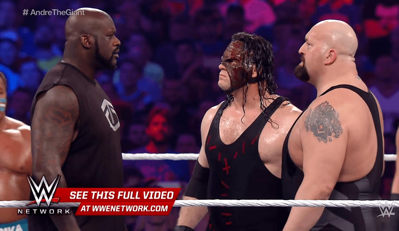 Shaq, en una pelea de wrestling… ¡otra vez! Repasamos los precedentes con NBA (Vídeos)