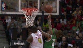 Atlanta vence con récord de tapones. Los Celtics, desastre histórico en el 1er cuarto