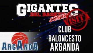 Visita Olímpica: El Club Baloncesto Arganda recibe a Gigantes Junior  en el final de sus Olimpiadas