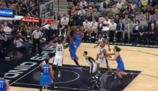 Prórroga para los Spurs y 40-1 en casa. Waiters se la lía a Duncan: tapón y póster (Vídeo)