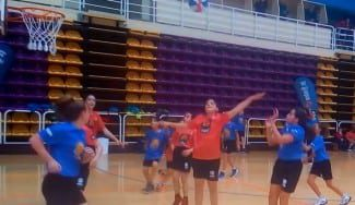A lo Curry: el San Agustín 'imita' a los Warriors al contraataque en el Jr.NBA-FEB (Vídeo)