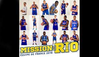 Francia da sus 17 para el Preolímpico con Parker, Diot, Causeur y Tillie. Batum, en el aire