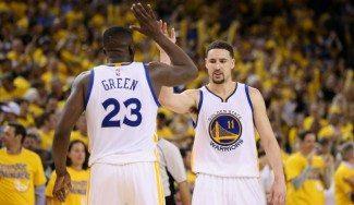 Green y Thompson, al rescate: los Warriors remontan con un colosal último cuarto (Vídeo)