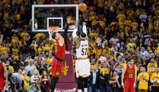 ¡Histórico! Los Cavs apalizan a los Hawks batiendo el récord de triples NBA (Vídeo)