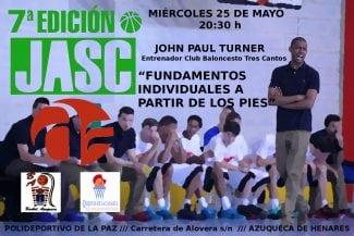 Un campeón de España, a enseñar: clinic de John Paul Turner en Azuqueca de Henares