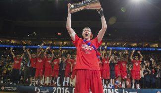 El CSKA se despide de su jugador más representativo tras 13 años